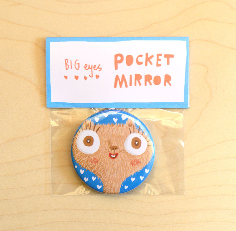Big Eyes Pocket Mirror