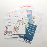 Mixed pack of 10 or 20 Christmas cards