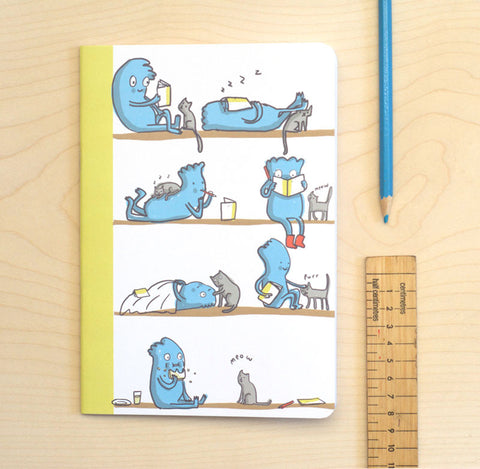 Cat and Owner Notebook