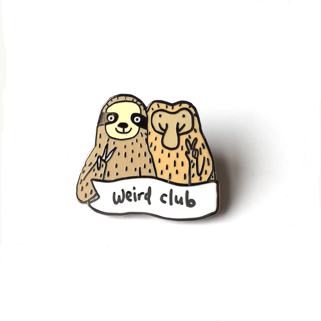 Weird Club Enamel Pin Badge