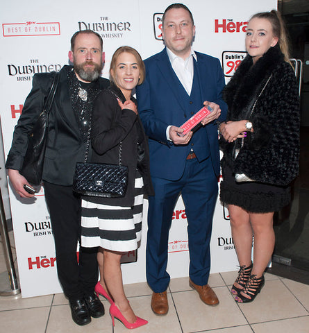 1f1587c38b0 The Designer Exchange Dawson Street store team collect the 2016 award for  Best Shop In Dublin. We won this award again in 2017. Thanks to our  wonderful ...
