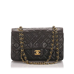 Chanel Vintage Classic Medium Lambskin Double Flap Bag 1994/96