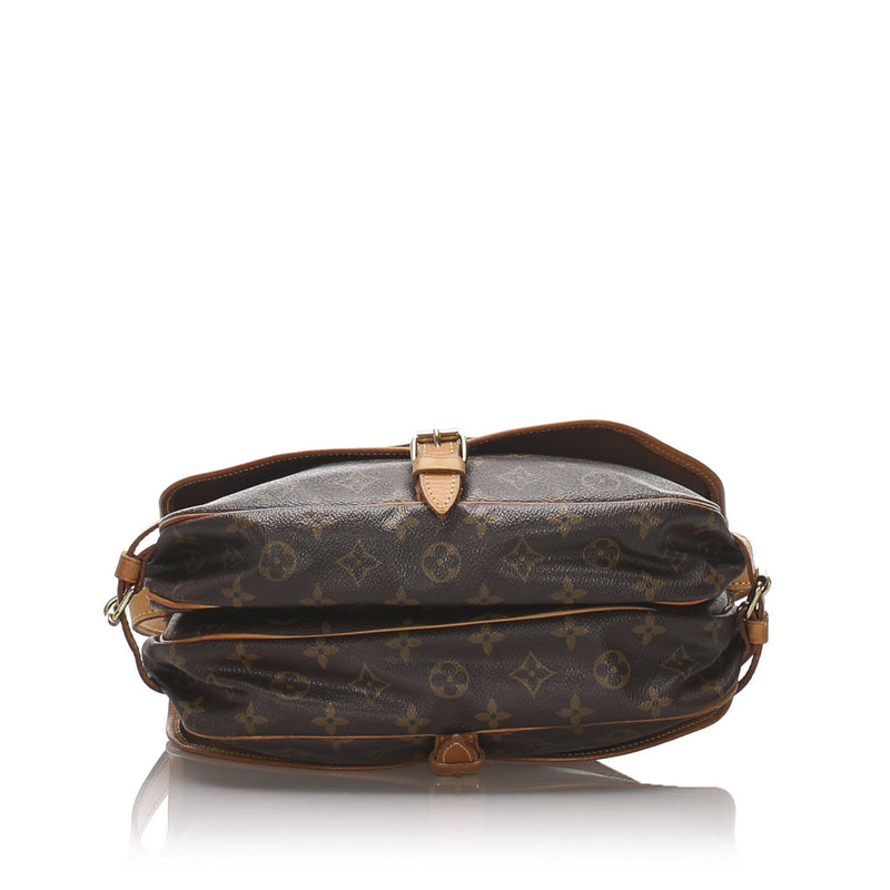 Louis Vuitton Vintage Monogram Saumur 30 MB0092