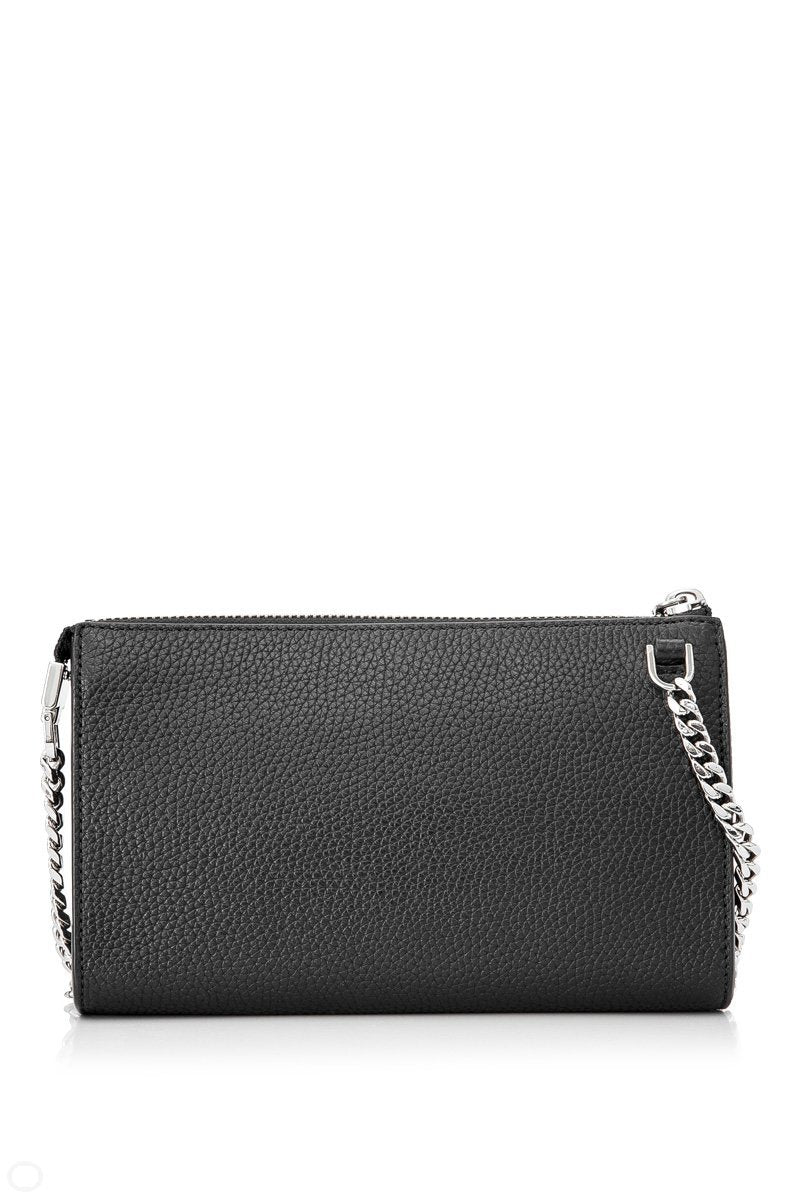 Marc Jacobs Black Small Gotham Leather Crossbody Bag