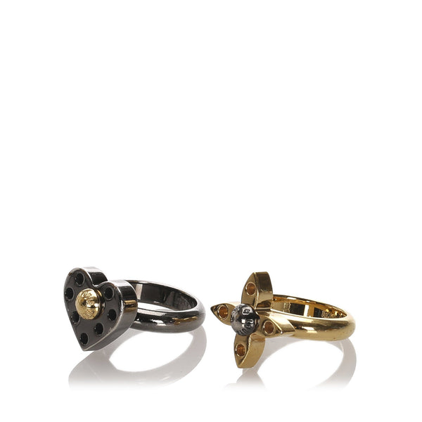 Louis Vuitton Love Letters Timeless Ring Set LE0153