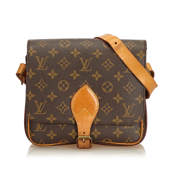 Louis Vuitton Vintage Monogram Cartouchiere MM