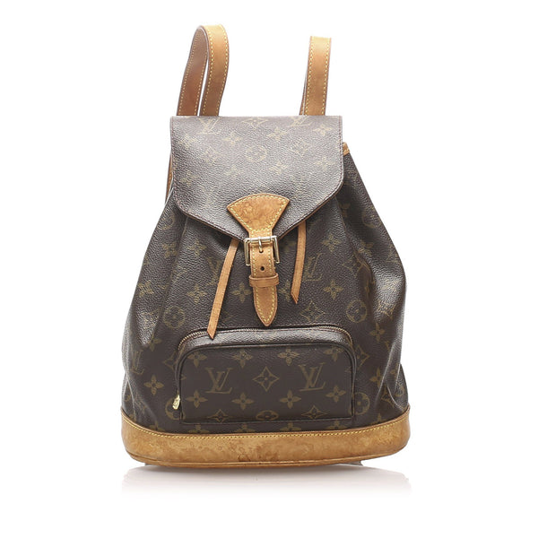Louis Vuitton Vintage Monogram Montsouris Backpack MM SP1929