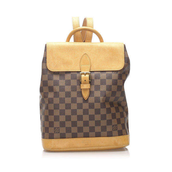 Louis Vuitton Damier Ebene Canvas Arlequin Centenarie Backpack TH0996