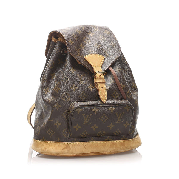 Louis Vuitton Vintage Monogram Montsouris Backpack MM SP0969