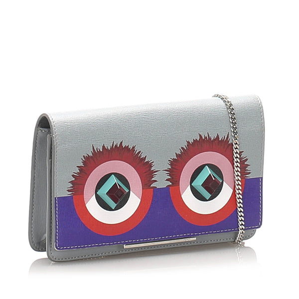 Hypnoteyes Leather Wallet on Chain Image# 2