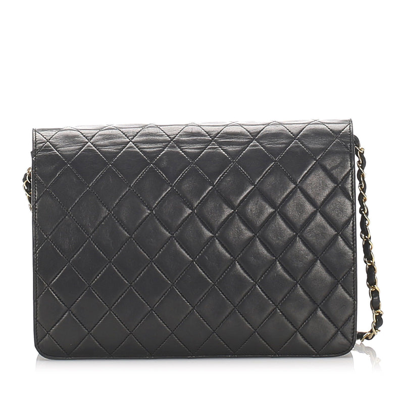CC Timeless Lambskin Leather Single Flap Bag Image# 3