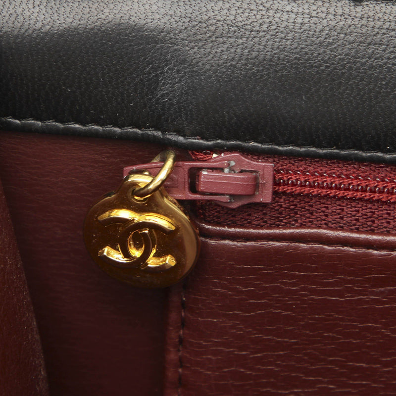 CC Timeless Lambskin Leather Single Flap Bag Image# 5
