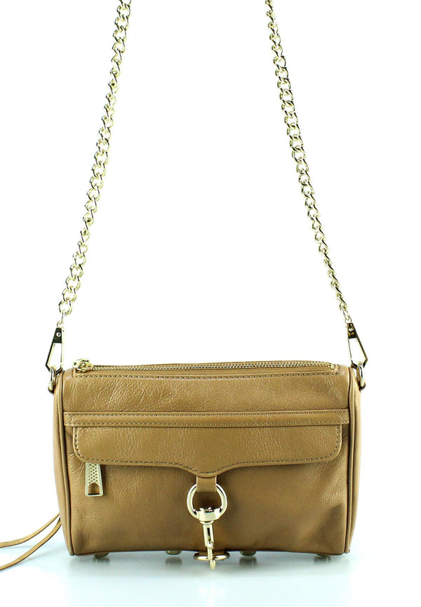 Rebecca Minkoff Mini Mac Crossbody Dune