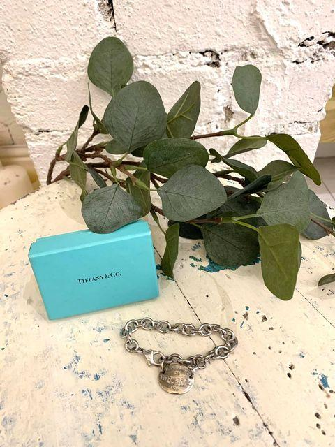 Tiffany & Co Oval Return To Tiffany Plate Sterling Silver Bracelet 8cm
