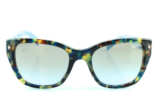 Prada SPR09S Tortoise/Colour Block Blue Sunglasses