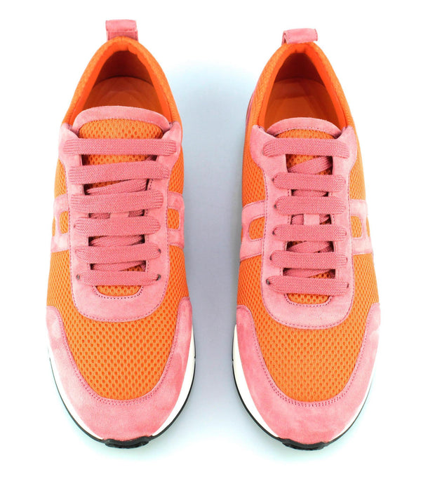Hermes Starter Sneakers Orange/Pink EUR 39.5 UK 6.5