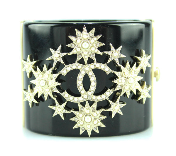 Chanel 2015A Resin CC Star Cuff
