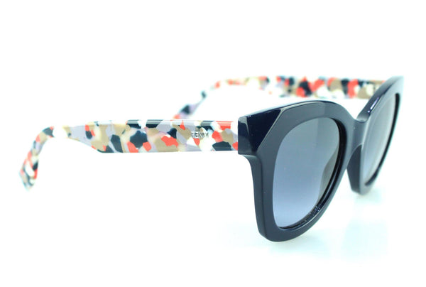 Fendi 0204/S FF Cat Eye Navy/Abstract Sunglasses