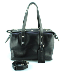 Marc By Marc Jacobs Connected Black Satchel SH