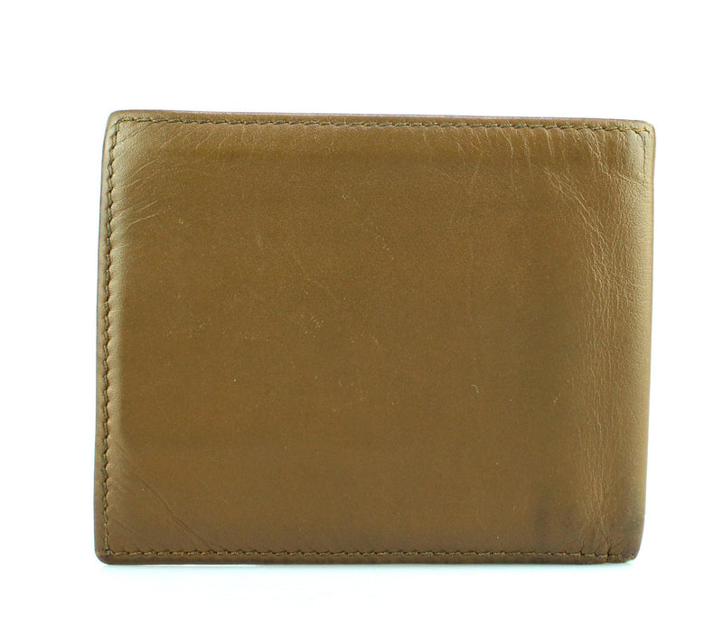 Gucci Brown Calf Leather Bifold Mens Wallet