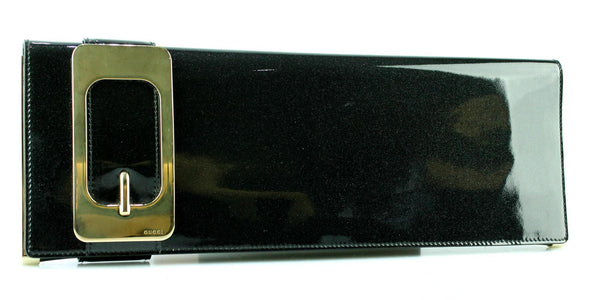 Gucci Shimmer Buckle Clutch Long