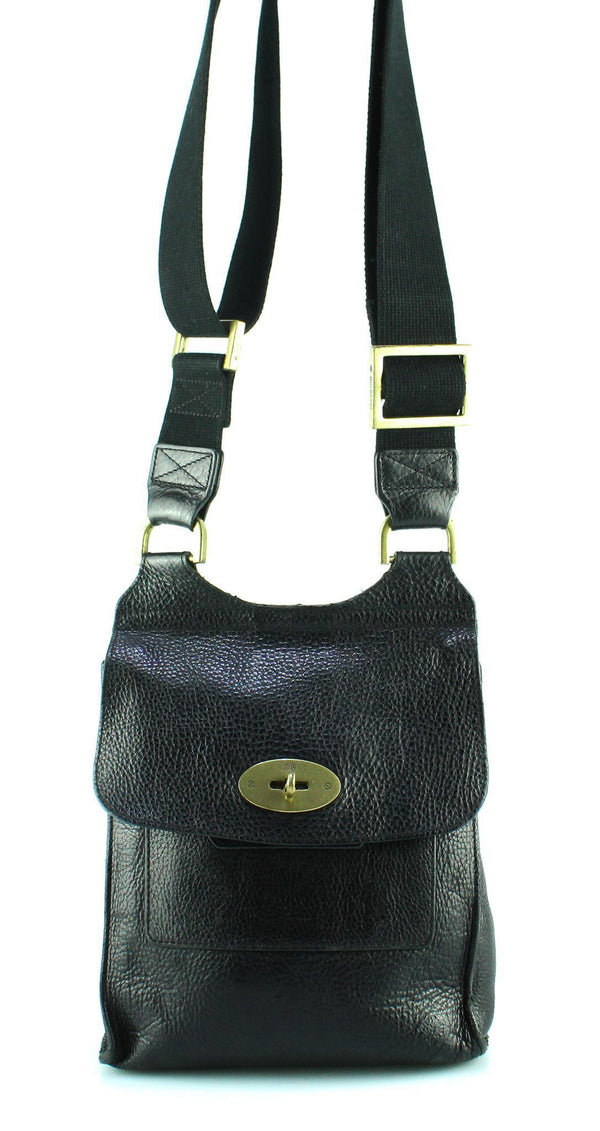 Mulberry Small Anthony Messenger Black OM