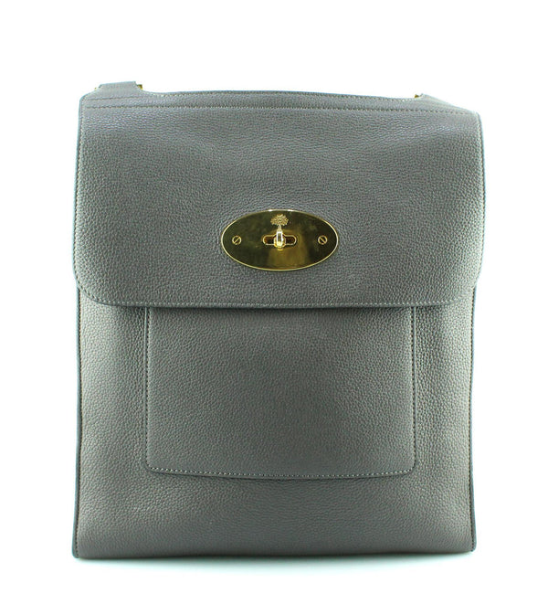 Mulberry Large NM Antony Messenger Grey