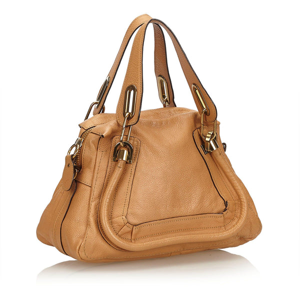 Chloe Tan Leather Paraty