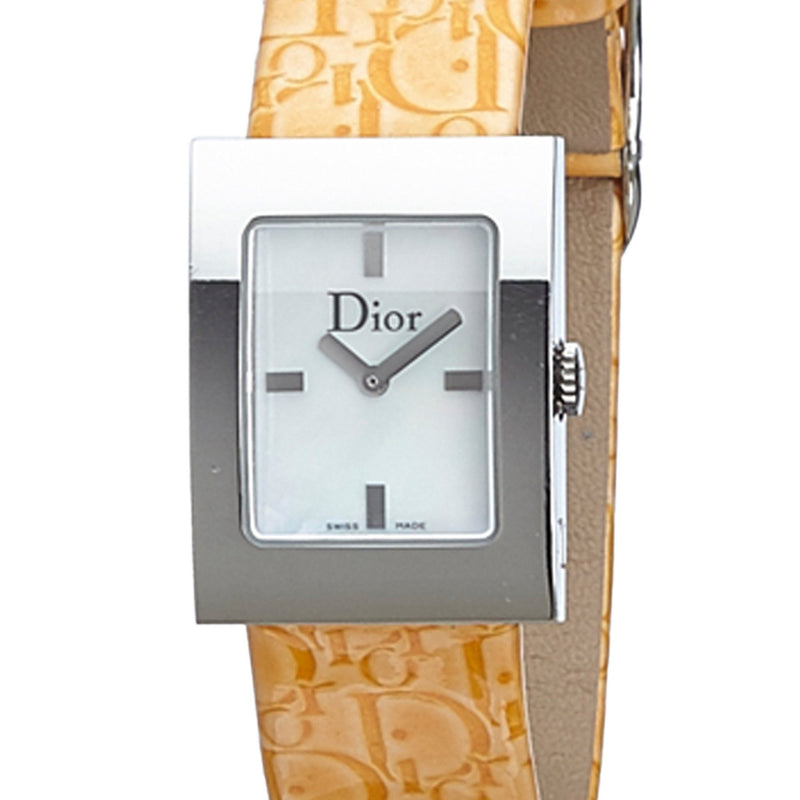 Christian Dior Leather Malice Square Watch Boxed