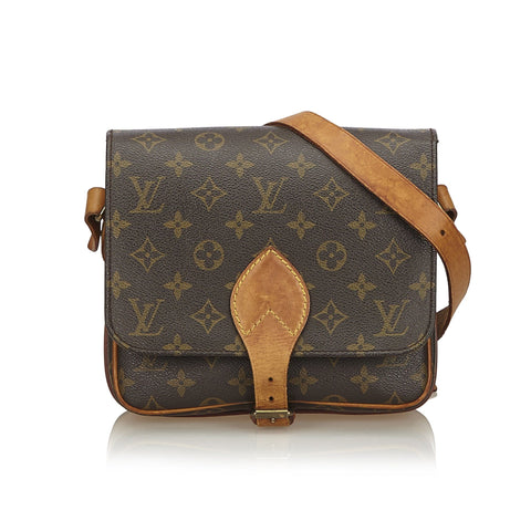 Louis Vuitton Vintage Monogram Cartouchiere MM SL0911