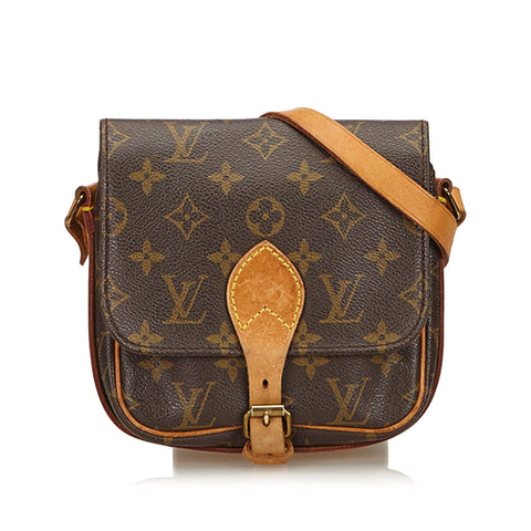 Louis Vuitton Vintage Monogram Cartouchiere PM 8905SL