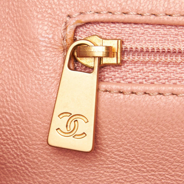 Chanel Caviar Petite Timeless Shopping Tote Pink 2000/02