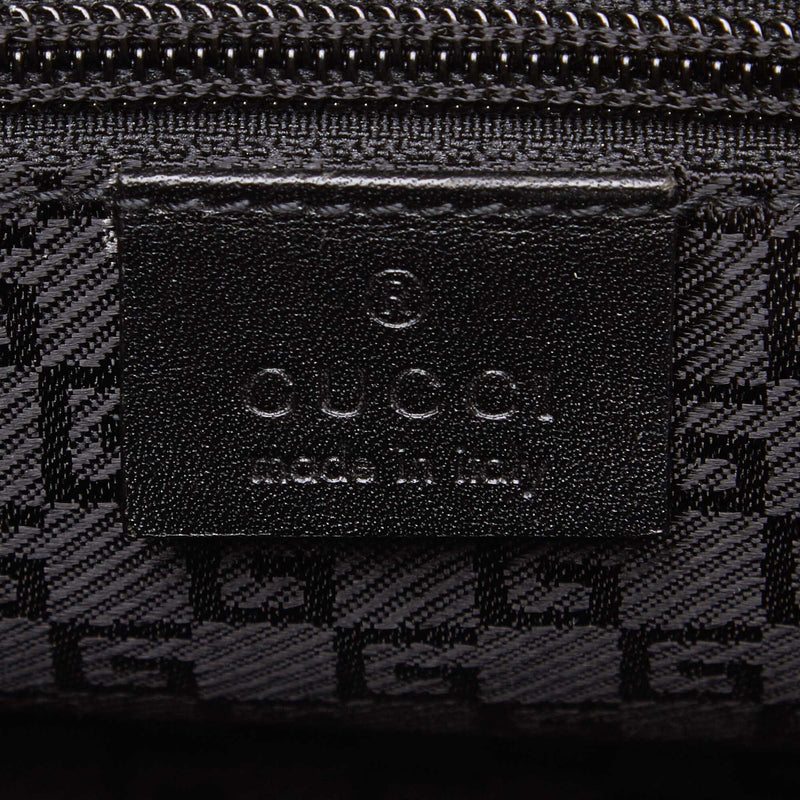 Gucci Nylon Travel Bag Black