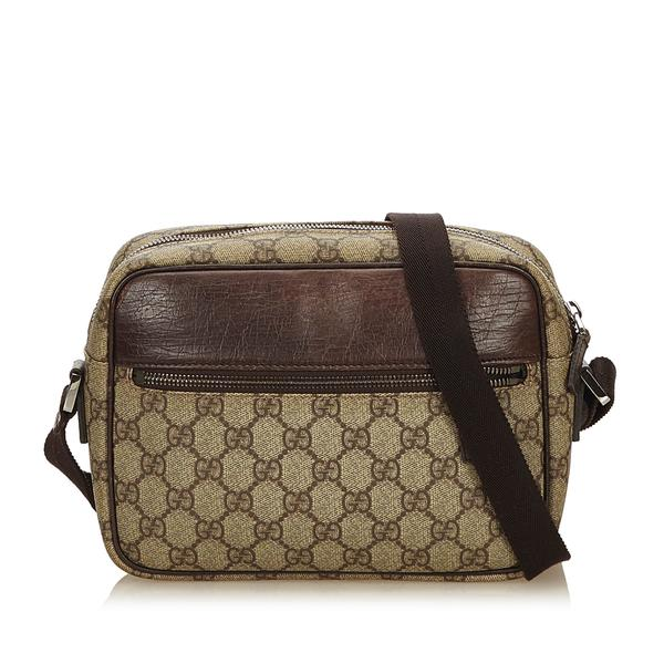 Gucci Guccissima Canvas Cross Body Bag