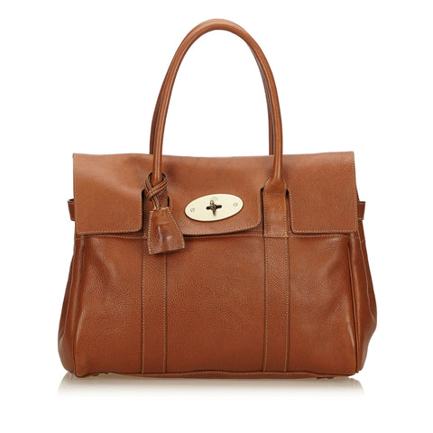 Mulberry NVT Oak Leather Bayswater Brass