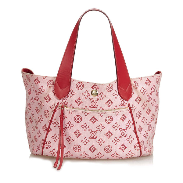 Louis Vuitton Cabas Ipanema Red GM MB0079