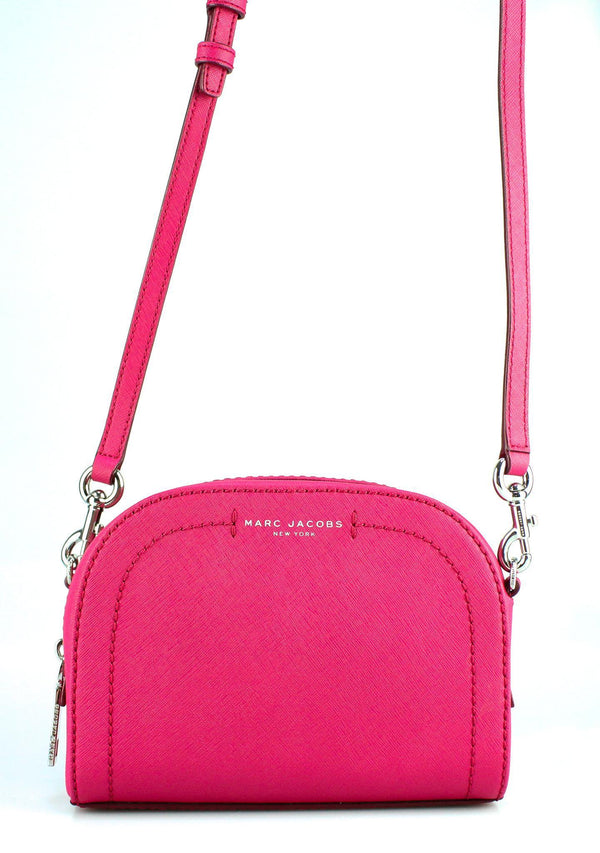 Marc Jacobs Small Playback Leather Crossbody Pink