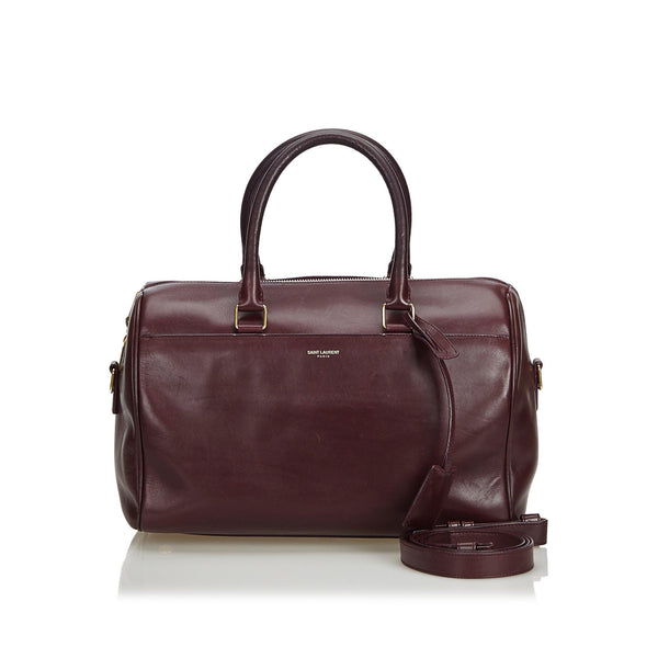 Saint Laurent Deep Brown Classic Baby Duffle Bag