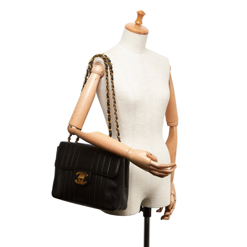 Chanel Large Panelled Lambskin Flap Bag 94/96