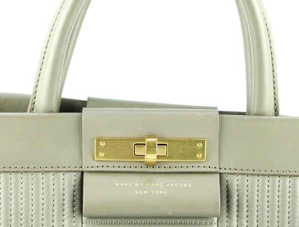 Marc Jacobs Madame Hilli Satchel Gravel