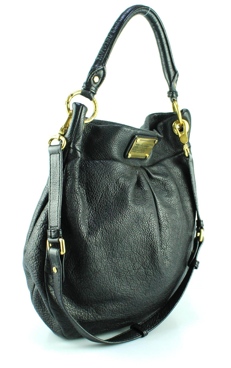 Marc By Marc Jacobs Small Hilier Hobo Black GH