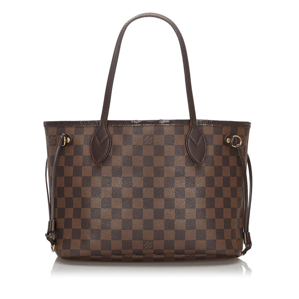 Louis Vuitton Damier Ebene Neverfull PM MB0161