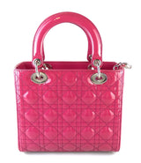 Christian Dior Lady Dior Medium Cannage Stitch Pink