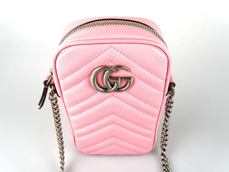 Gucci GG Marmont Mini Bag Pink