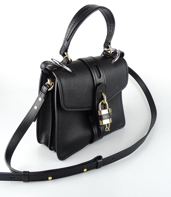 Chloe Black Aby Day Shoulder Bag