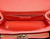 Chanel Business Affinity Bag Small Coral