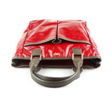 Anya Hindmarch Small Nevis Tote Red Patent