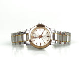 Burberry BU9205 Silver And Gold Steel Strap watch