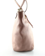 Gucci Bree Tote Blush Pink Leather GH