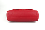 Mulberry Medium Lily in Scarlet Red Small Classic Grain